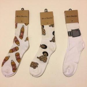 40s & Shorties Sock Bundle